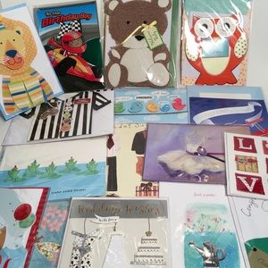 Other - Assorted Greeting & Note Card Lot Of 16 Sealed